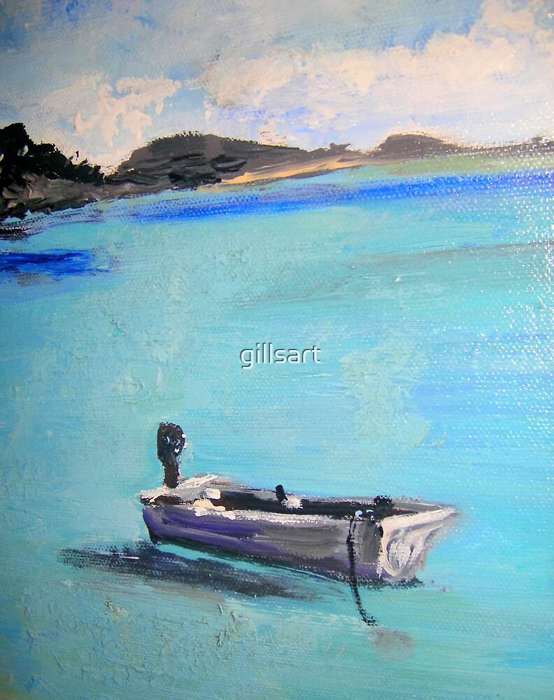 Whitehaven -Whitsunday Islands by gillsart