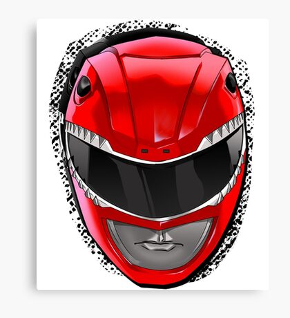 Red Ranger • Mighty Morphin Power Rangers Canvas Print