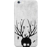 dear imaginary friends (black and white) iPhone Case/Skin