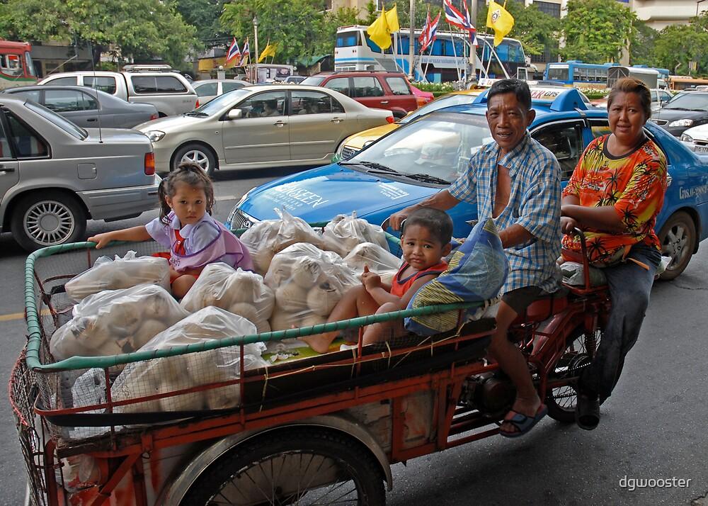Bangkok Family by dgwooster