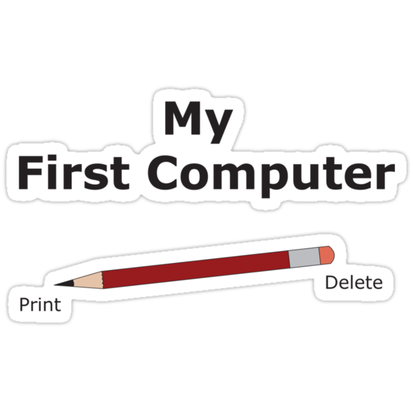 The first computer by Adrian Jeffs