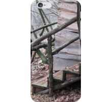 old wooden house in the forest iPhone Case/Skin