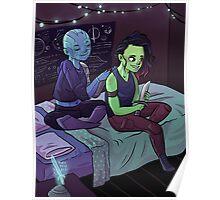 Teen Nebula + Gamora Poster