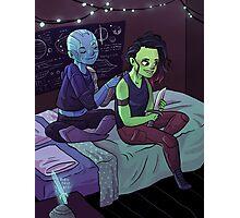Teen Nebula + Gamora Photographic Print