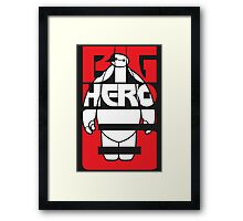 Big Hero 6 Baymax Framed Print