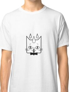 head of a cat vector icon Classic T-Shirt