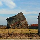 Falling Barn by PDWright