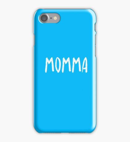 Awesome matching shirts - Momma T-Shirt iPhone Case/Skin