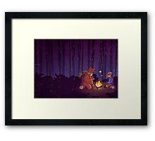 Campfire  Framed Print
