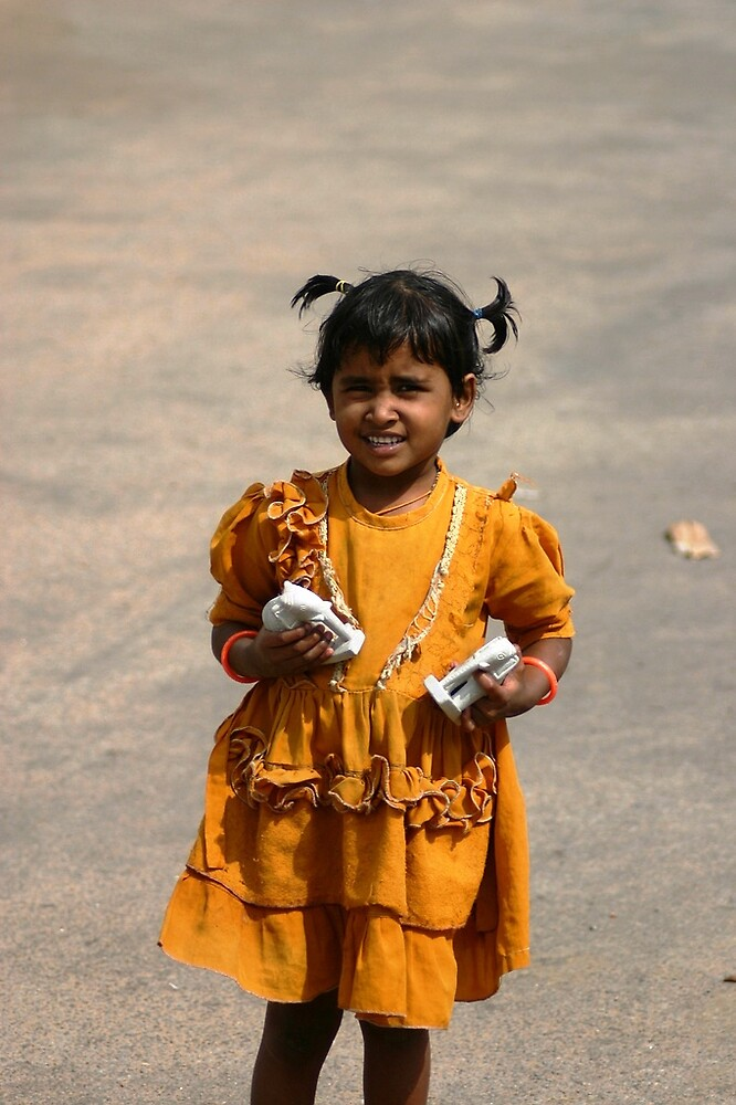 Indian girl by Nikolay  Dimitrov