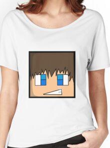 Minecraft head  Women's Relaxed Fit T-Shirt