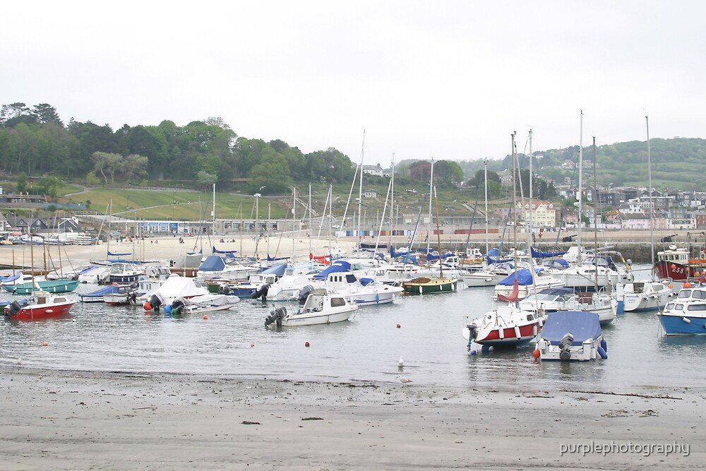 Lyme regis by purplephotography