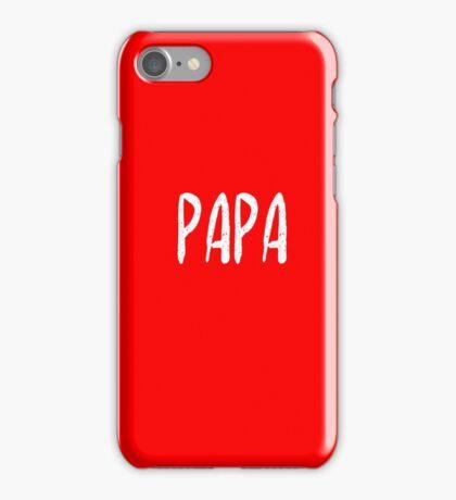 Awesome matching shirts - Papa T-Shirt iPhone Case/Skin