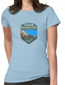 Zion National Park 2 Womens Fitted T-Shirt