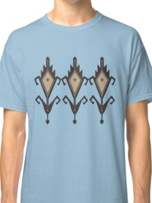 Bukhara motif gray line Classic T-Shirt