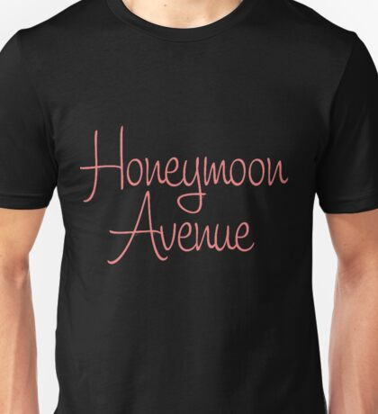 Honeymoon Avenue Unisex T-Shirt