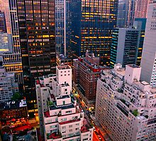 Looking South from 6th Street Manhattan, NYC by delobbo