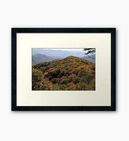 Great Smoky Mountain National Park Framed Print