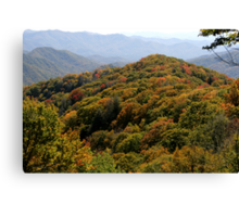 Great Smoky Mountain National Park Canvas Print