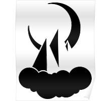 SIP logo big n black Poster