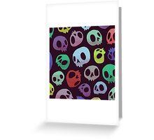 Skulls Greeting Card