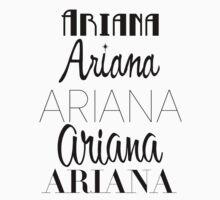 Ariana Grande - Era Logos by GenesisDesigns