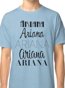Ariana Grande - Era Logos Classic T-Shirt
