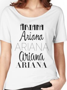Ariana Grande - Era Logos Women's Relaxed Fit T-Shirt