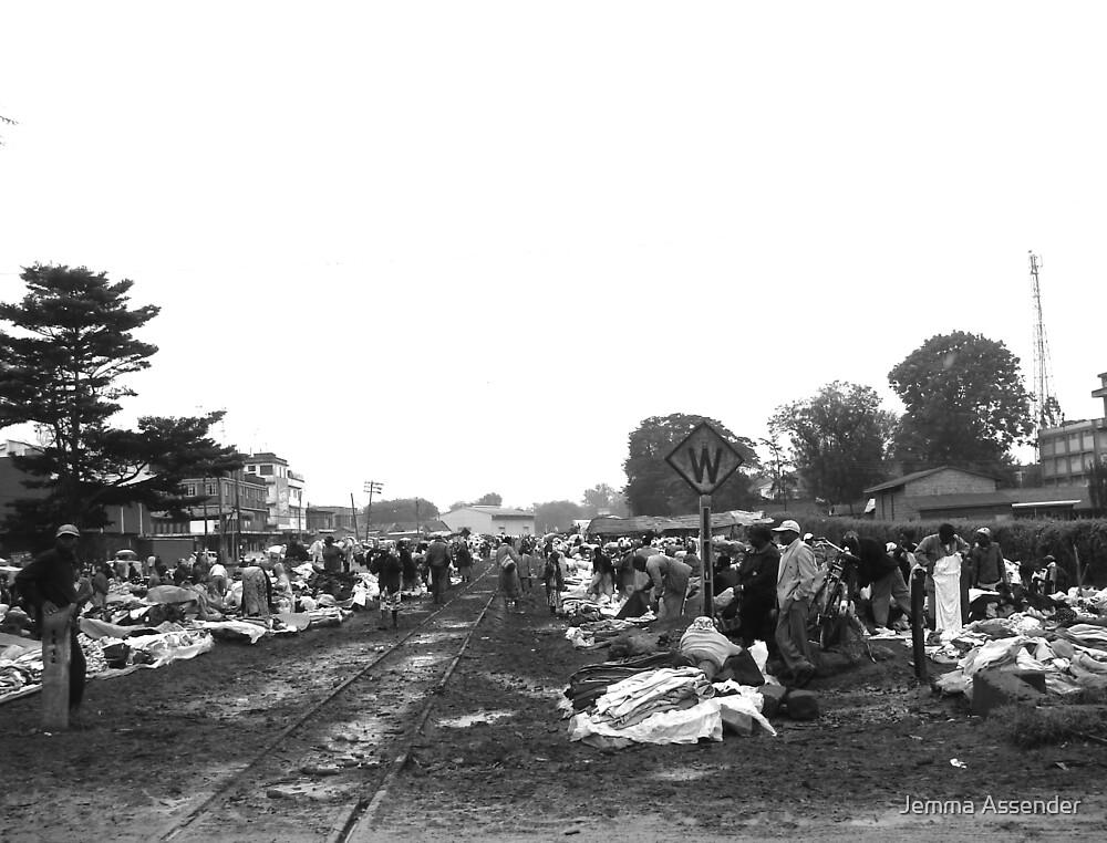 Kenyan Market by Jemma Assender