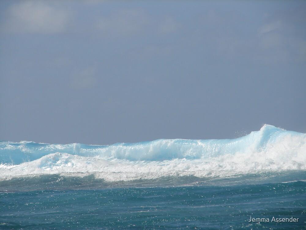 Waves Breaking by Jemma Assender