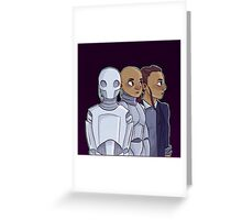 Robot Evolution Greeting Card