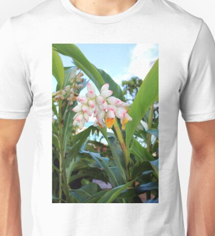 Tropical flowers  Unisex T-Shirt