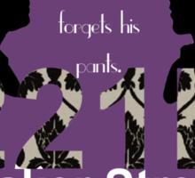 Sherlock Quotes Collage Sticker