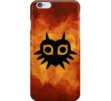 Majora's Mask Silhouette iPhone Case/Skin