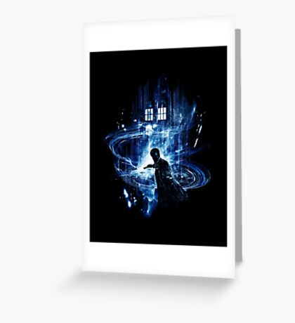 Th Time Lord E Greeting Card