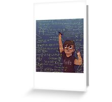 Romy + Math Greeting Card