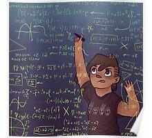 Romy + Math Poster