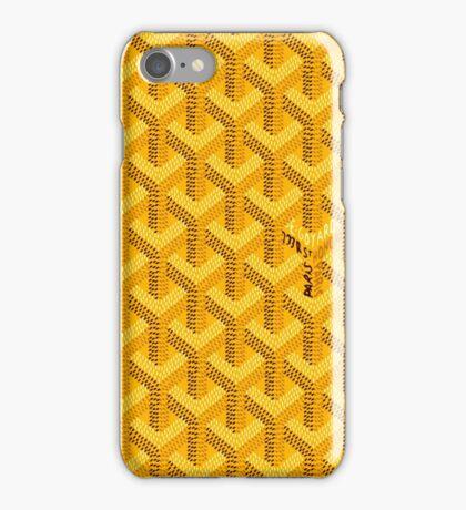 Goyard Yellow For Phone Case iPhone Case/Skin