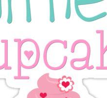Mommy's Little Cupcake Sticker