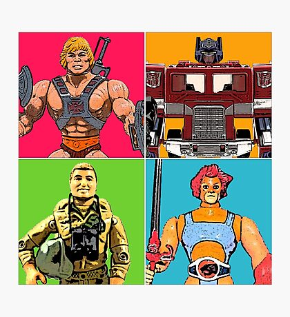 80's Heroes of the Imagination Photographic Print