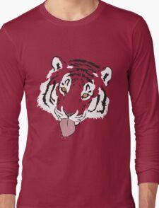 Snowflake Tiger Long Sleeve T-Shirt
