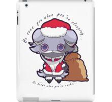 Santa Espurr iPad Case/Skin