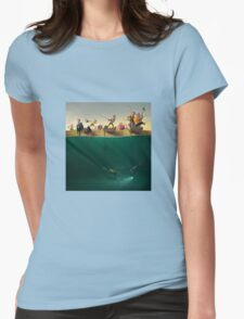 Fishing Womens Fitted T-Shirt