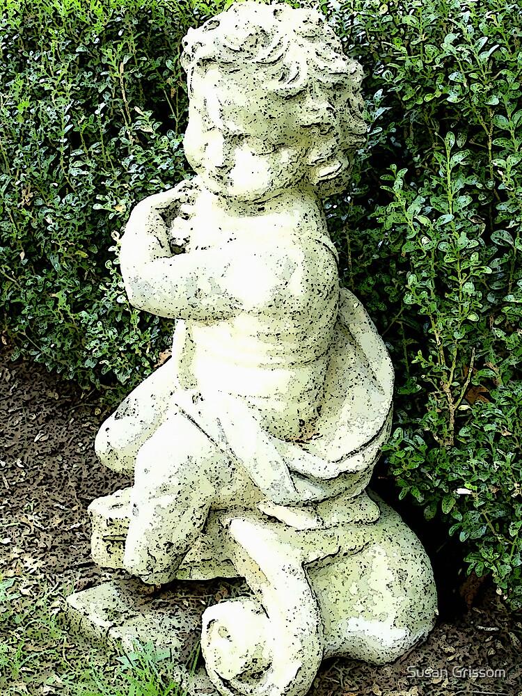Graveyard  Statue by Susan Grissom