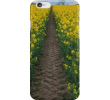 Rape seed field iPhone Case/Skin