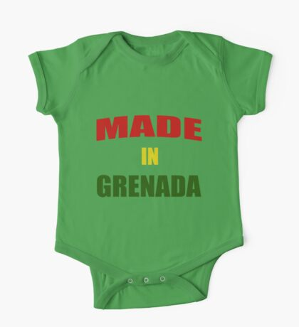 Made In Grenada 2 One Piece - Short Sleeve