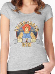 Third Earth Gym Women's Fitted Scoop T-Shirt
