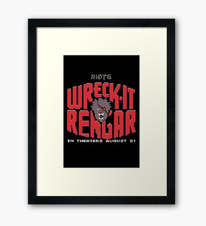 Rengar Framed Print