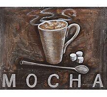 mocha Photographic Print