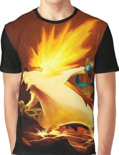 Typhlosion & Doublade Pokémon Graphic T-Shirt